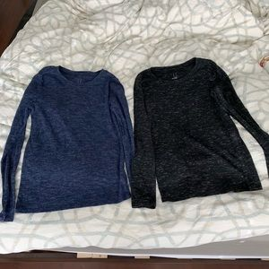 TARGET A NEW DAY MARLED LONG SLEEVE SHIRTS TOP LOT
